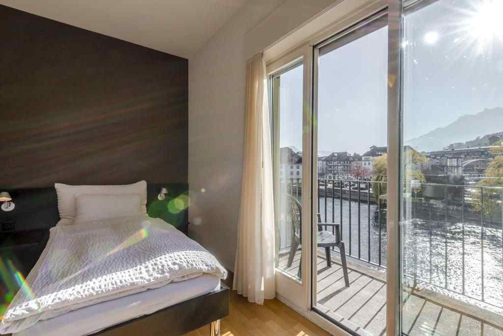 The Tourist City & River Hotel Luzern review, The Tourist City & River Hotel rooms, The Tourist City & River Hotel view