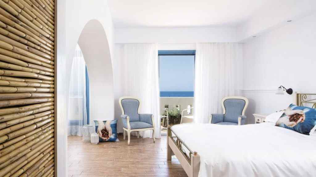 Lagos Mare hotel Naxos rooms, Lagos Mare hotel reviews, Family friendly hotels in Naxos Greece
