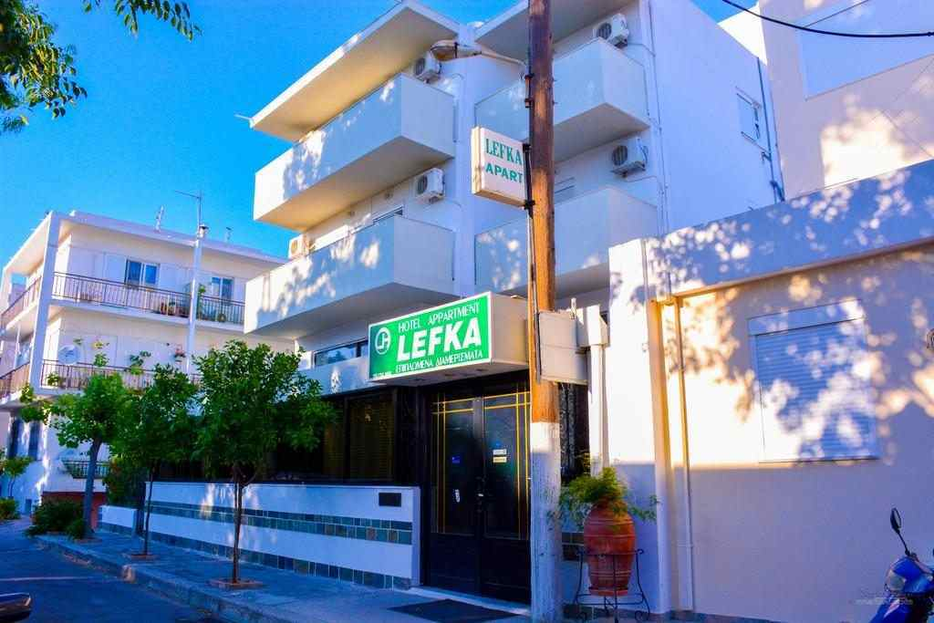 Lefka Hotel & Apartments location, Lefka Hotel & Apartments to beach
