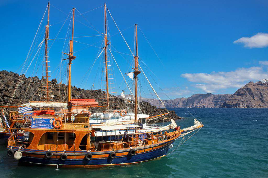 Santorini Volcano And Boat Tours Hotelgods